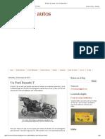 Archivo de Autos_ Un Ford Llamado T
