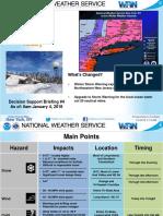 Winter Storm Briefing