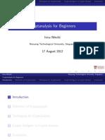 Cryptanalysis for Beginners - Ivica Nikolic