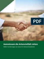 Nabu Faltblatt Eu Naturschutzfonds