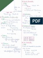 Probabilités (4) - Lois Usuelles (Polycopié)