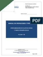 Intercambiador TC IC 001 PE Manual de Operaciones y Practicas Compilado REV1