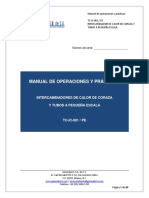 Intercambiador TC IC 001 PE Manual de Operaciones y Practicas Compilado REV1