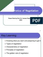 CharacteristicsOfNegotiation