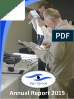 Sight Service Annual Report 2015
