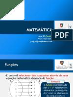 Matemática 02 SLD Funções