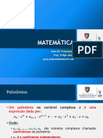 Matemática 03 SLD Polinômios