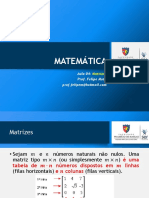 Matemática 04 SLD Matrizes
