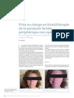 kinésithérapie de la paralysie faciale périphérique
