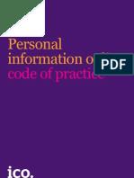 ICOPersonal Information