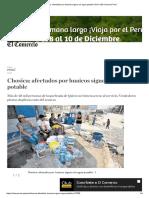 Chosica_ Afectados Por Huaicos Siguen Sin Agua Potable _ Perú _ El Comercio Perú