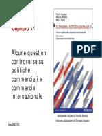 12. Controversie Politiche Commerciali 12-13