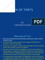 Law of Torts - Meaning and Definitions Amity jaipur bba