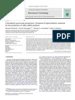 FitzPatrick Et Al 2010 a Biorefinery Processing Perspective
