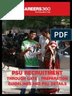 PSU Recruitment Through GATE - Preparation Guidelines and PSU Details