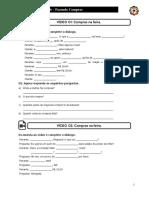 Lição 06 - Exercício 01 - Exercício de Vocabulário - Compras