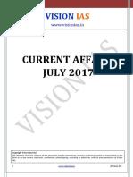 July 2017 Vision Ias
