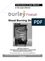 Installation Burley Wood Burner Dec 2013
