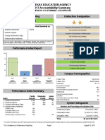 El Paso Accountabilty Summary Sheets for 2017