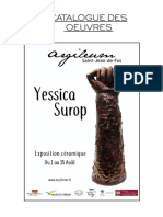 Catalogue Des Oeuvres Yessica Surop