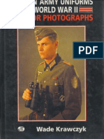 German Army Uniforms of WWII in Color Photographs