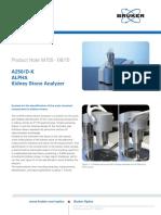 A250-D-K PN M155 KidneyStoneAnalyzer En