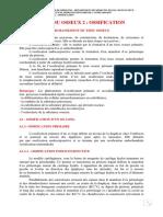 B. 1) Tissu Osseux ( Partie 2 ) , Ossification