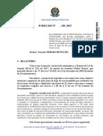 DOC Relatório Legislativo SF178765773036 20170822
