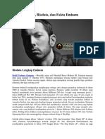 Profil, Biodata, Dan Fakta Eminem