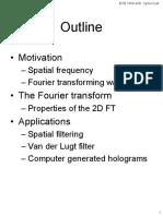 Fourier Optics