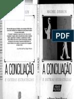 DEBRUN, M - A Conciliação e Outras Estrategias