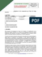 Proyecto de Investigacion Restaurantes ..
