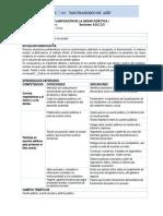 I Unidad Didactica - Fcc - 2do Año