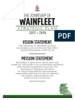 Wainfleet Strategic Plan 2017-2018