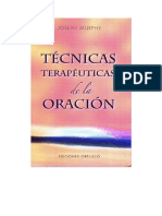 Murphy Joseph - Tecnicas Terapeuticas de La Oracion