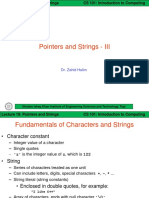 ITC Lect 19 [Pointers and Strings - III]