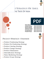 Product Strategy of Amul