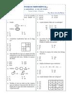 Ficha de matematica 3° P24