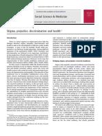 2014 Stuber Meyer and Link -Stigma Prejudice and Health