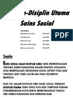 Disiplin Disiplinsainssosial 120604120151 Phpapp02