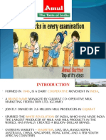 Amul Brand Marketing Strategy