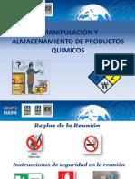 Manipulacion de Productos Quimicos