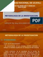 METODOLOGIA DEL ESTUDIO I