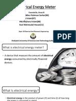 Electrical Energy Meter