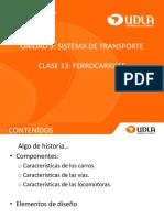 Clase Ferrocarriles