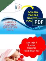 8 SNP Akreditasi PAUD-OK