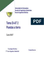 Puesta a Tierra - Universidad de Extremadura
