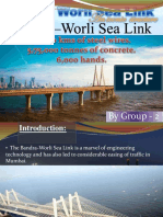Bandra–Worli Sea Link PPT
