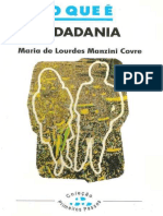COVRE, Maria de Lourdes Manzini - O Que é Cidadania