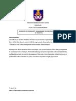 Questionnaire Survey _ Format